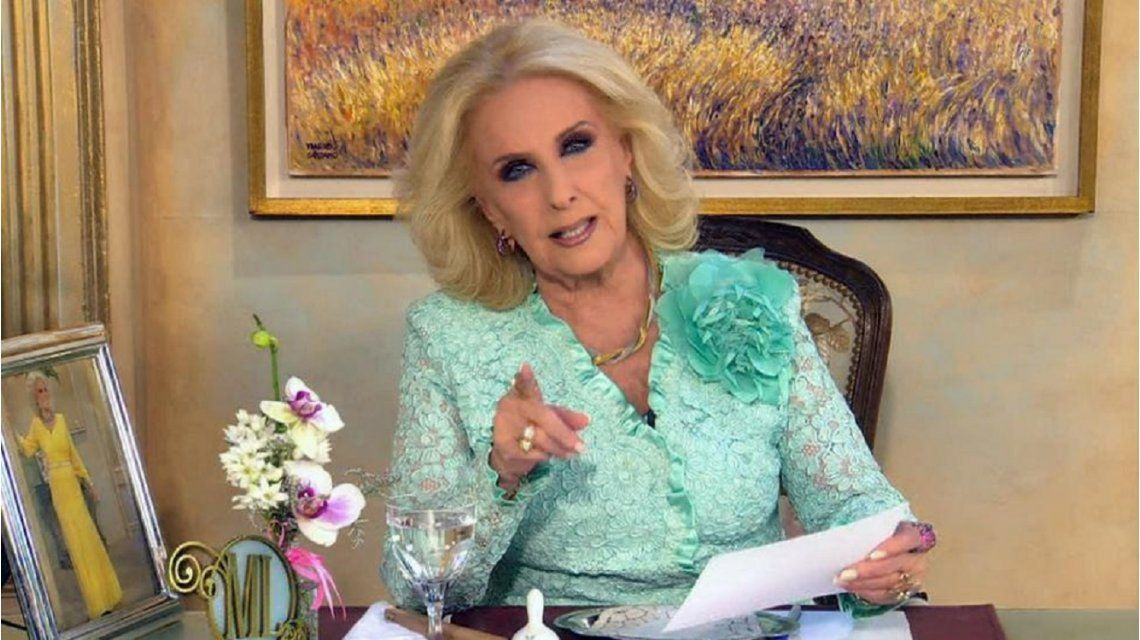 Mirtha le pasó factura a Nacho Viale: Por ahí tiene demasiadas novias