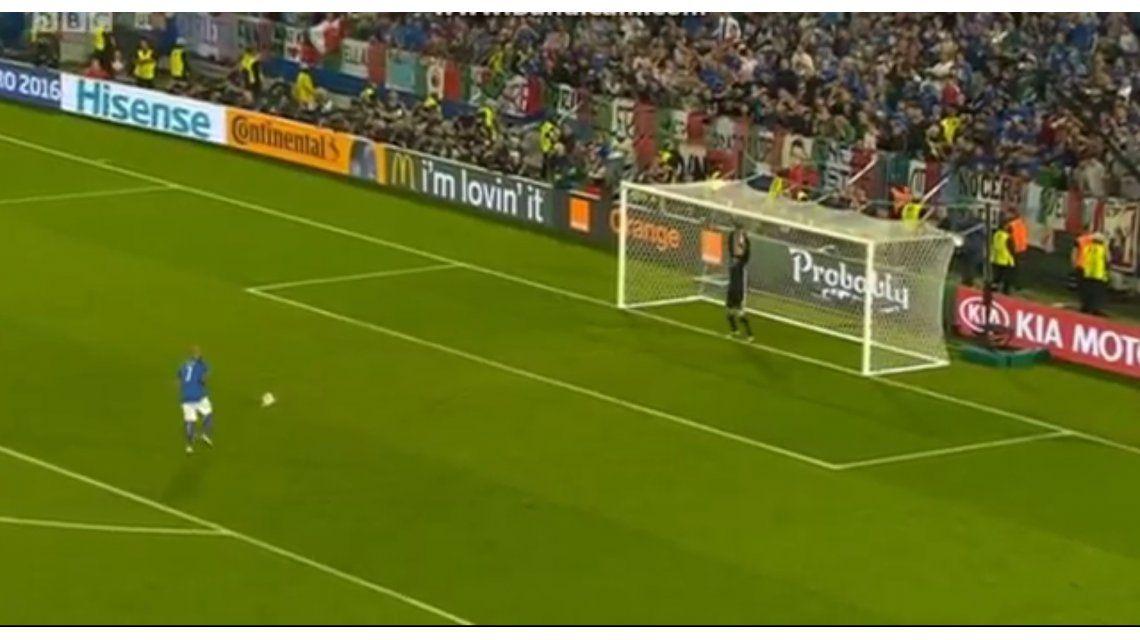 VIDEO: El penal más insólito de la Eurocopa que se volvió meme