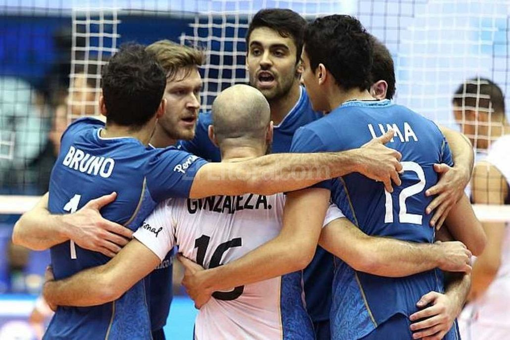 Argentina logró un gran triunfo por 3-0 ante Serbia en la Liga Mundial de Voley