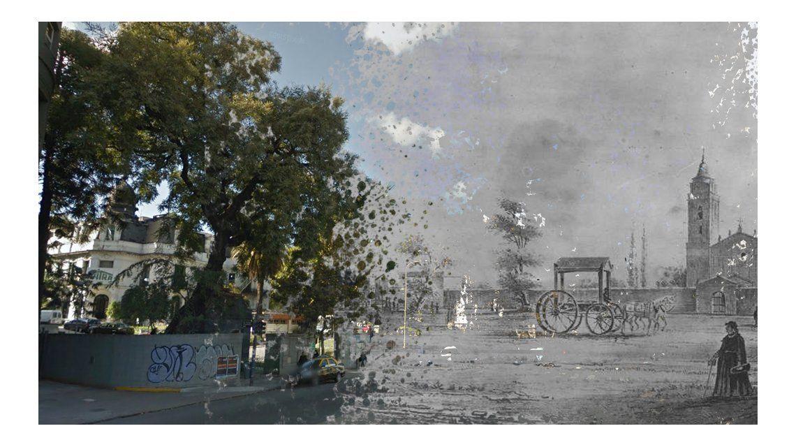 Viaje en el tiempo: mirá el antes y el después de Buenos Aires