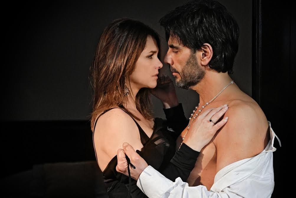 La noche de pasión de Araceli González y Juan Darthés en Los ricos no piden permiso