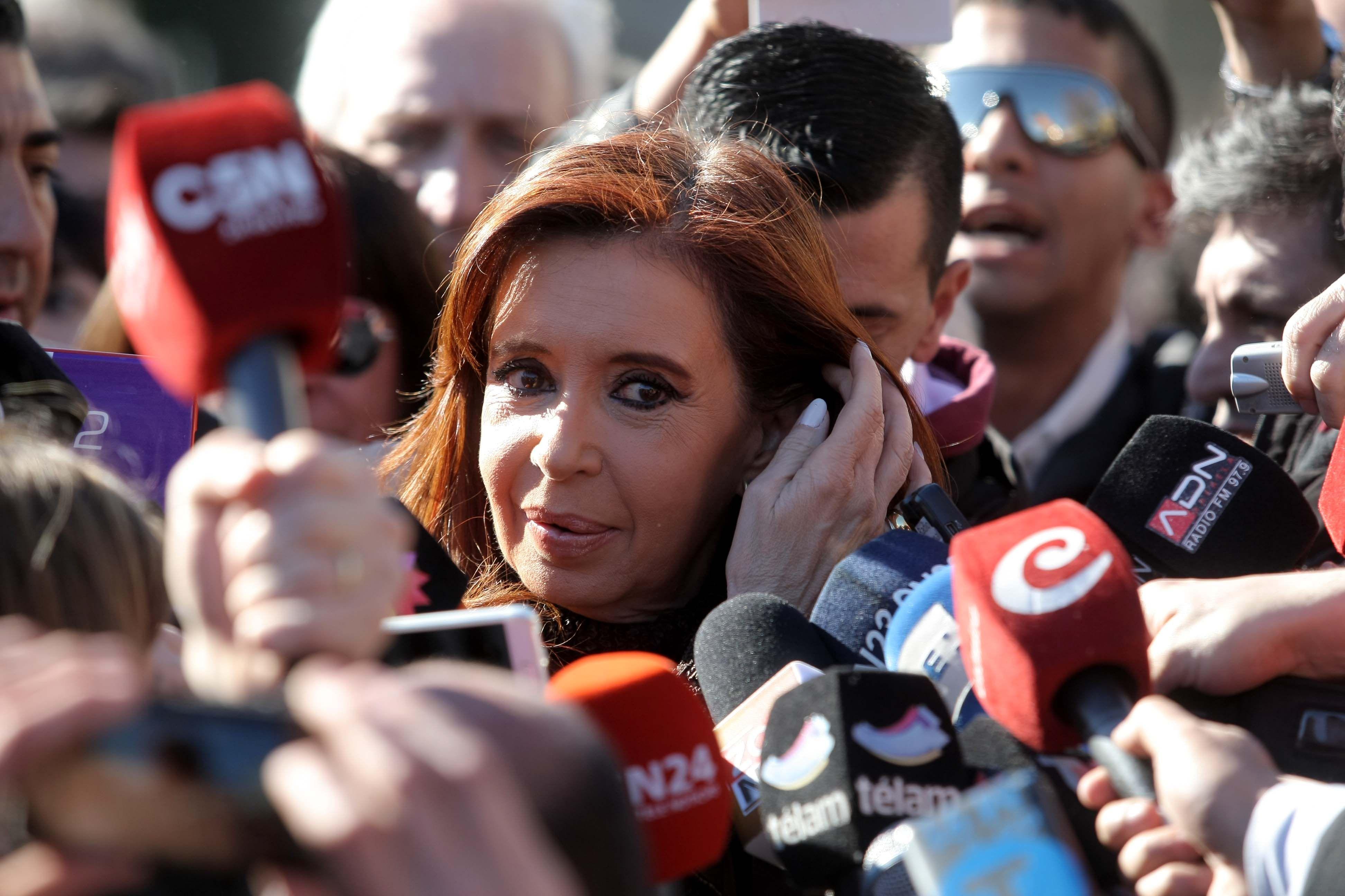 Stolbizer sumó dos veces el dinero de la caja de seguridad, explicó Cristina Kirchner