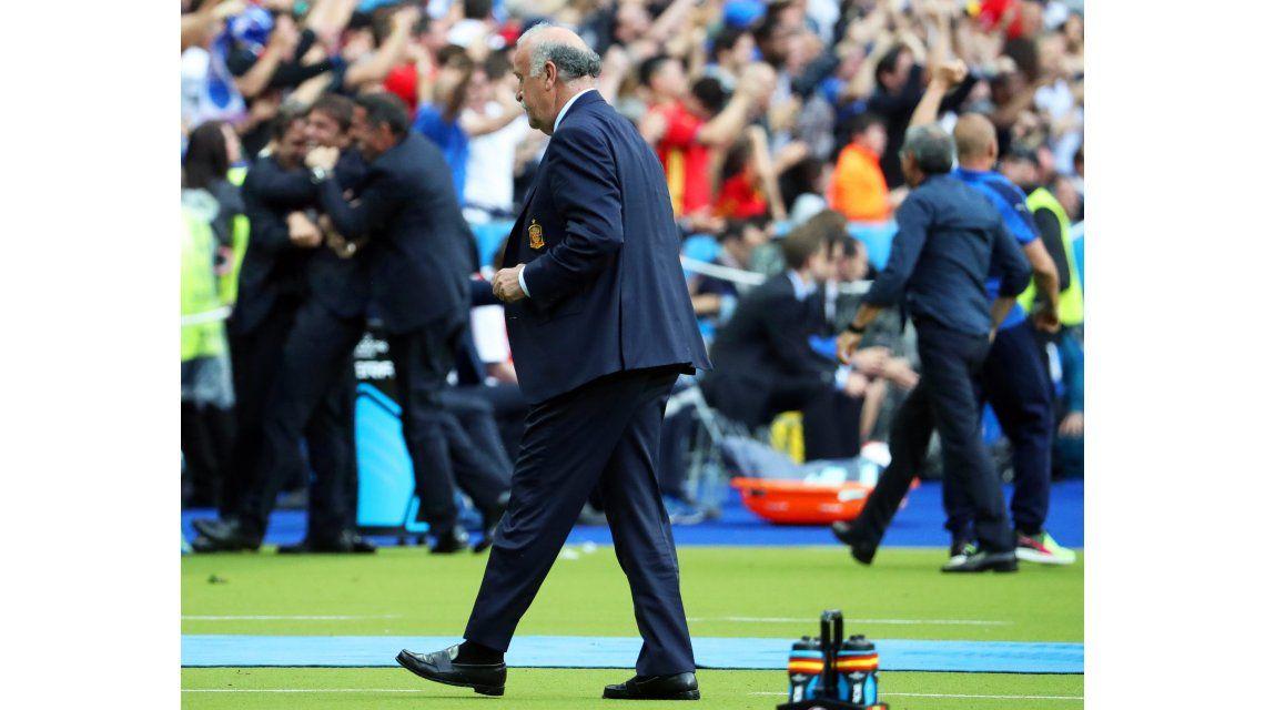 El fin de una era: tras ocho años, Del Bosque se va de la Selección española