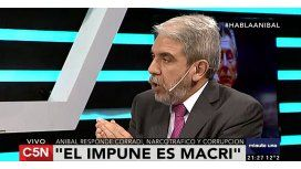Aníbal Fernández en C5N: Todo es un invento para tapar el desastre