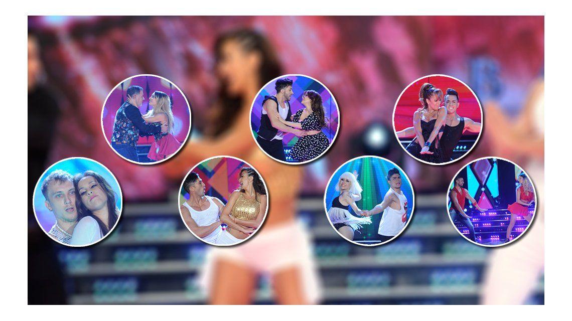 Bailando: reviví el duelo de las siete parejas sentenciadas