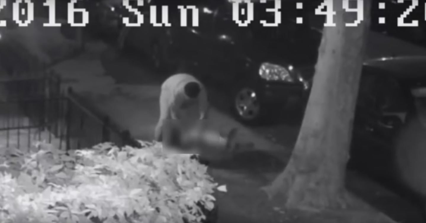 Escalofriante video: un hombre quiere violar a una mujer en la calle