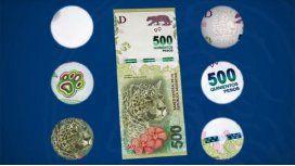 Que no te metan el yaguareté: cómo detectar un billete de $500 falso
