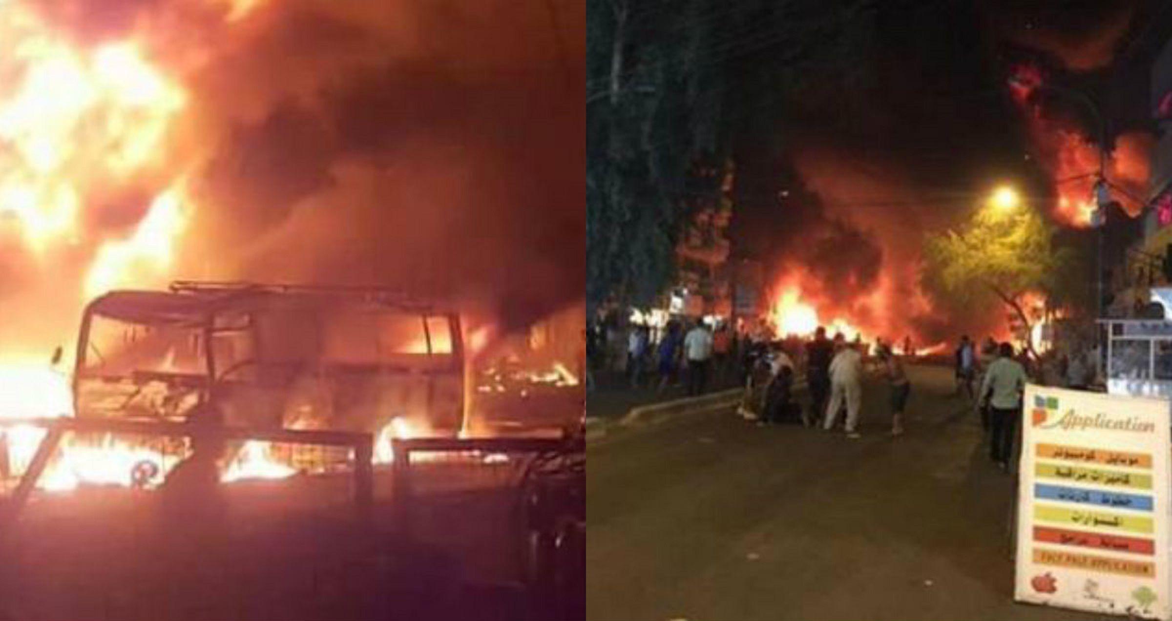 Fuerte explosión en el centro de Bagdad: al menos 18 muertos y 45 heridos