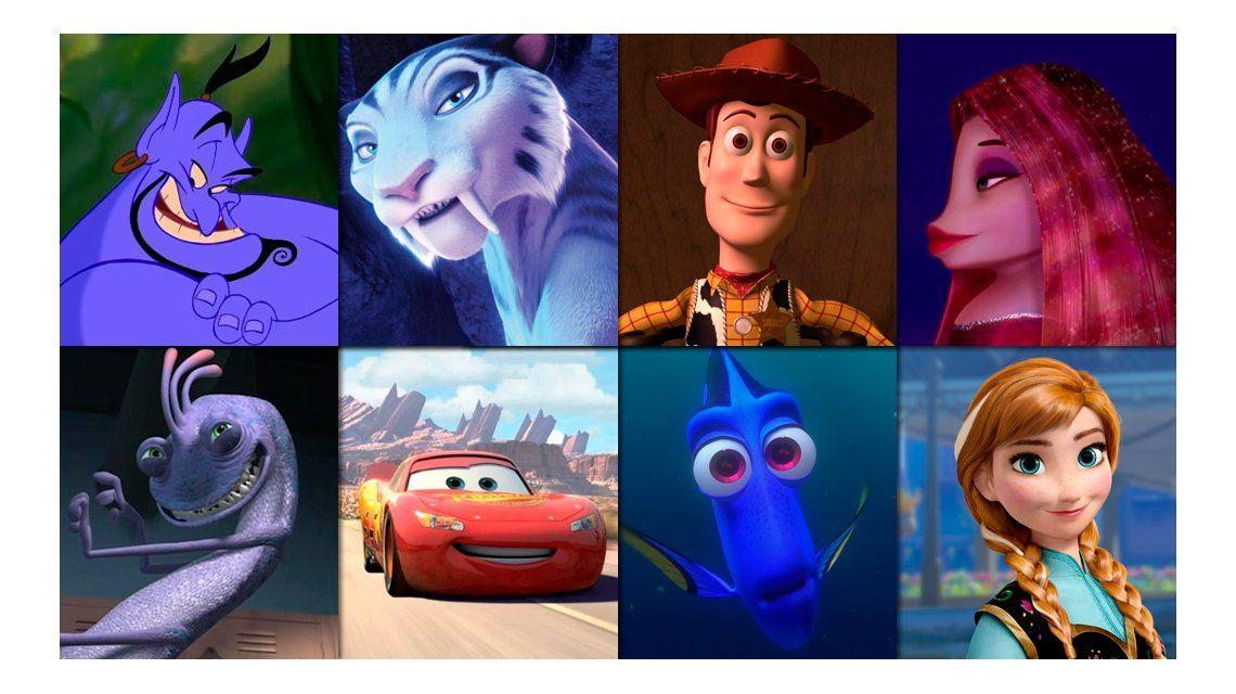 #TriviaM1: ¿Qué actor está detrás de cada dibujo animado?