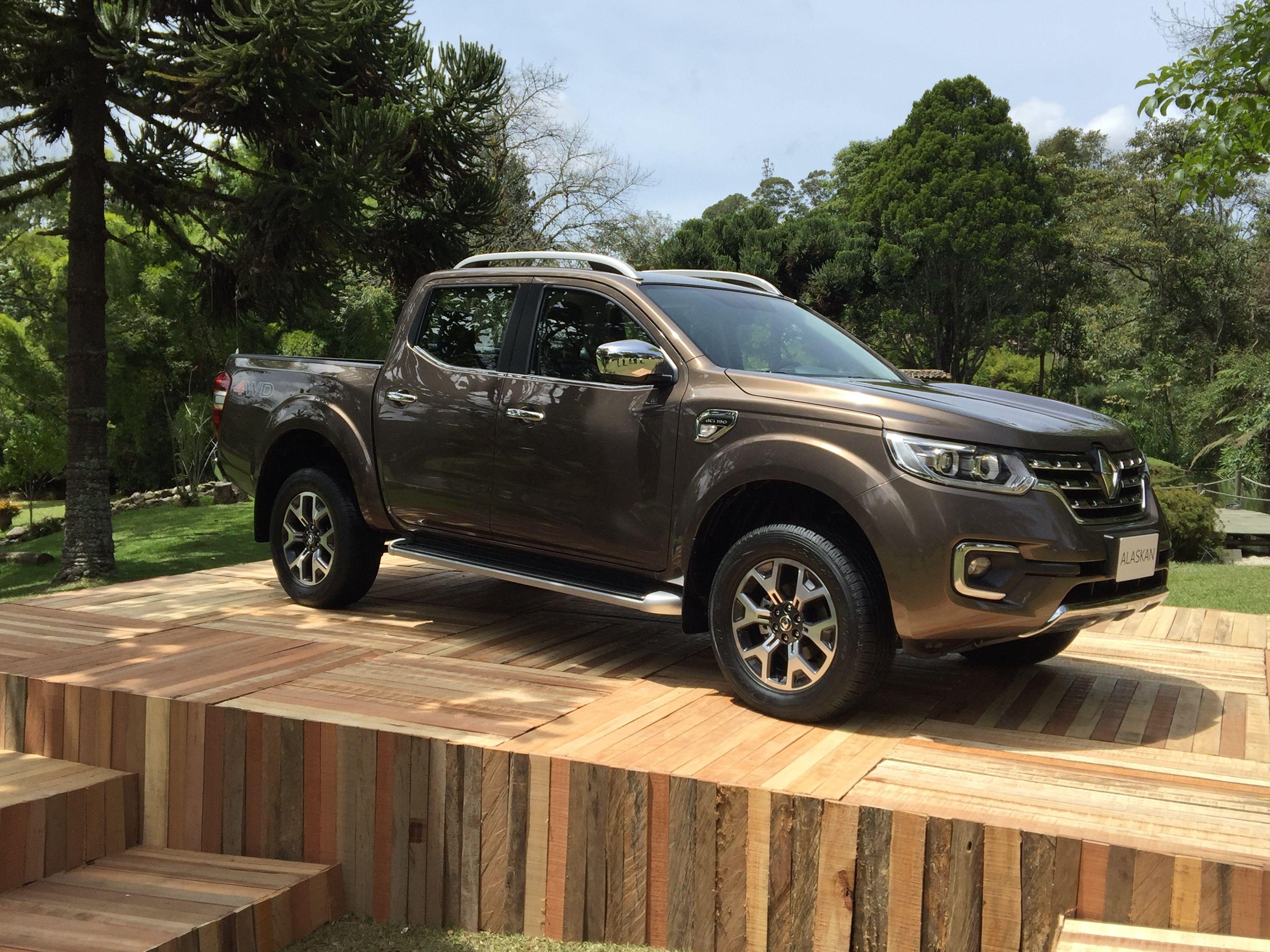 Así es la pick up que Renault fabricará en el país