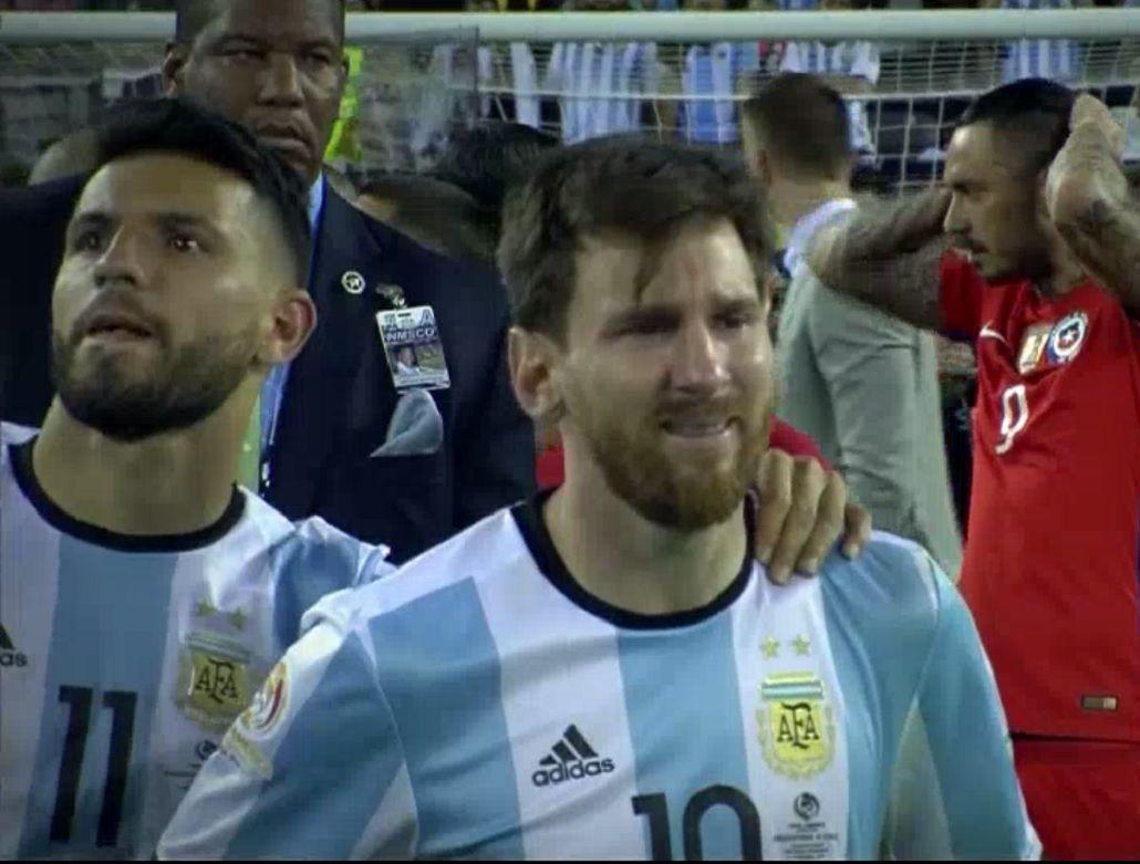 Increíble: apostaron al llanto de Messi y ganaron la lotería