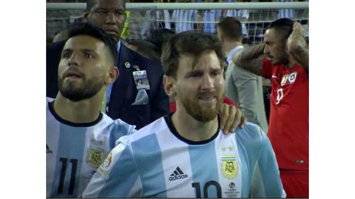 Se filtró en redes la primera foto de Messi tras su renuncia a la Selección