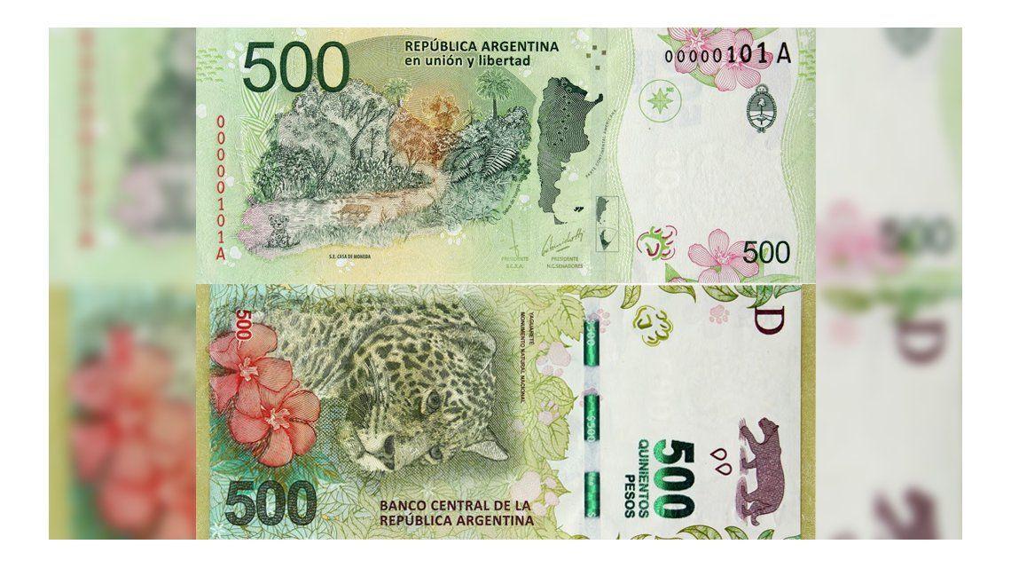 Un detalle en el flamante billete de 500 pesos dejó a más de uno recalculando