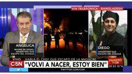 La emotiva charla entre el chef argentino y su madre tras el terror