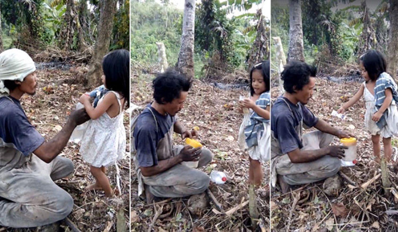 Conmovedor video: tiene 5 años y todos los días guía a su padre ciego al trabajo