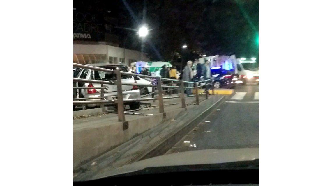 Choque en Juan B. Justo y Corrientes: hay heridos
