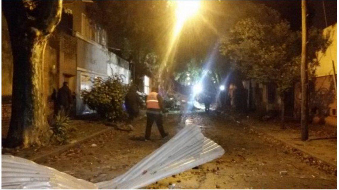 Derrumbe y heridos por una explosión en un laboratorio de Rosario
