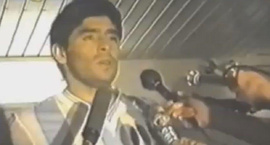 El día que Diego Maradona renunció a la Selección argentina