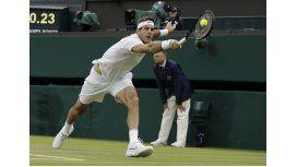Una buena para Del Potro: será cabeza de serie en Wimbledon