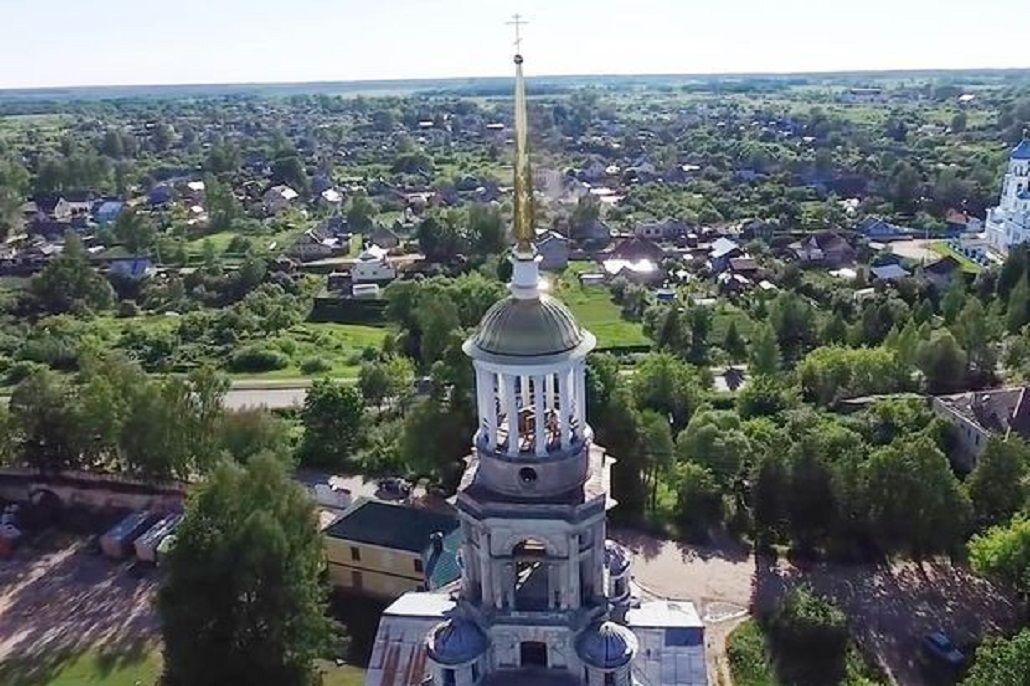 VIDEO: Drone capta a pareja teniendo sexo en la cúpula de una iglesia