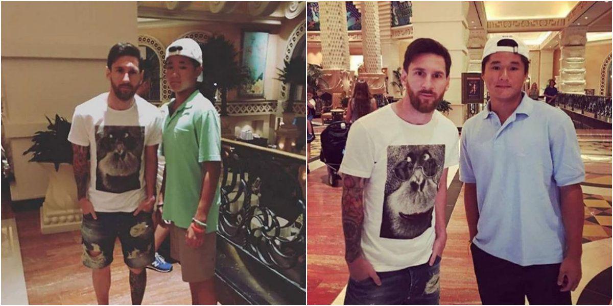 Las primeras fotos de Lionel Messi en Bahamas