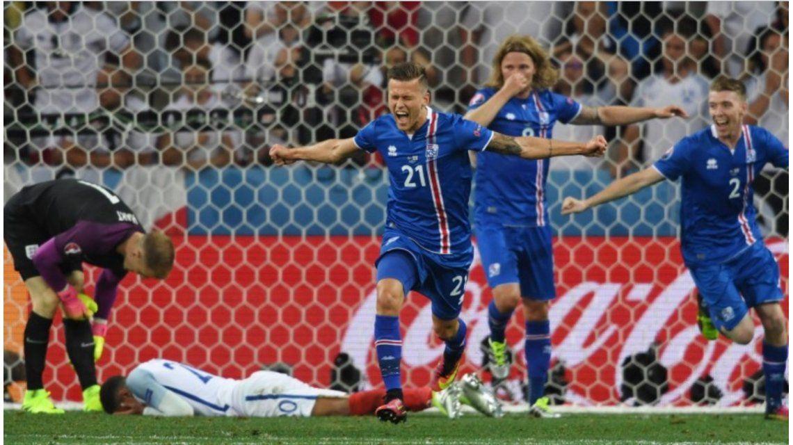 Islandia es sensación en la Euro y su figura hincha por un equipo argentino