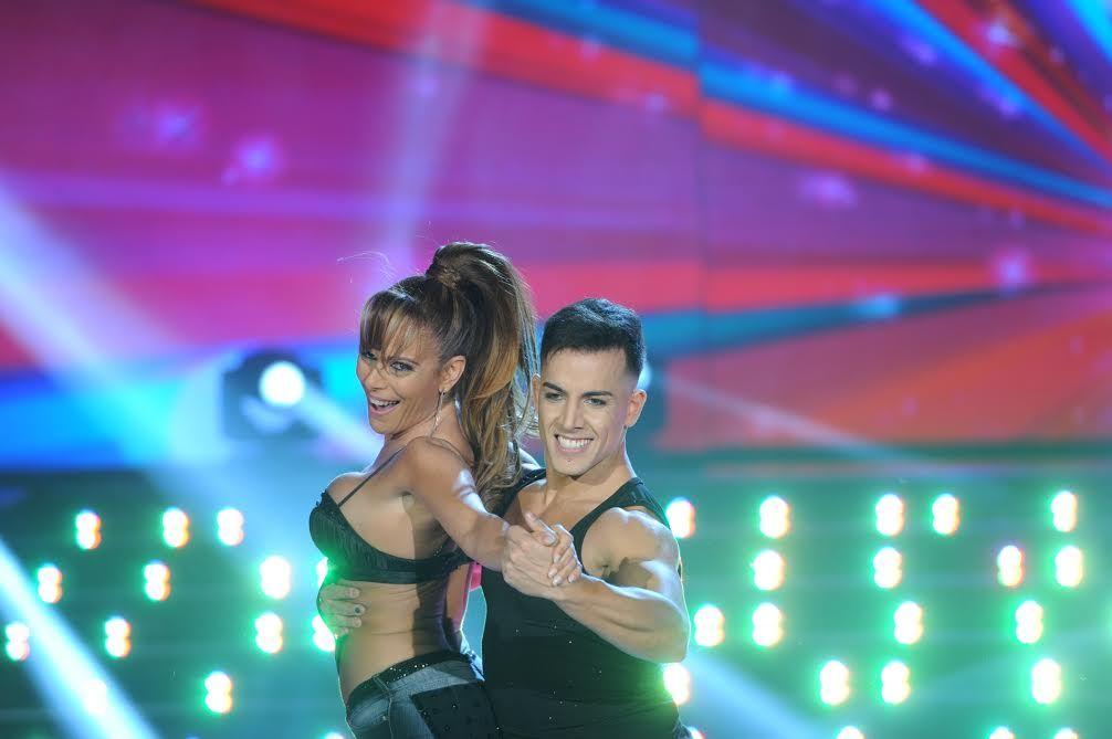Un truco fallido le arruinó la performance a Iliana Calabró en el Bailando