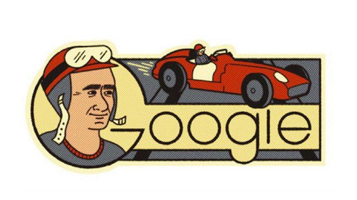 Google Homenajea A Juan Manuel Fangio En El Dia De Su 105 Cumpleanos