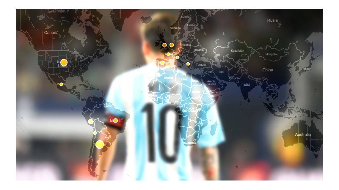 En tiempo real: cómo se vivió en Twitter la renuncia de Messi a la Selección Argentina