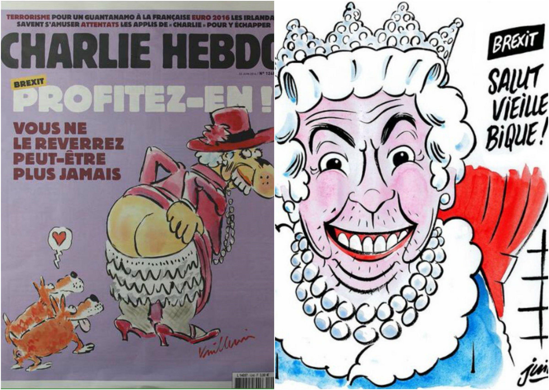Charlie Hebdo lo hizo otra vez: así reaccionó al Brexit