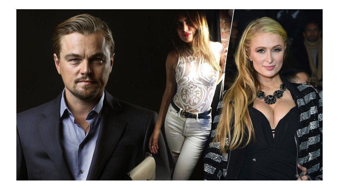 La anécdota de Silvina Luna con Leonardo Di Caprio y Paris Hilton