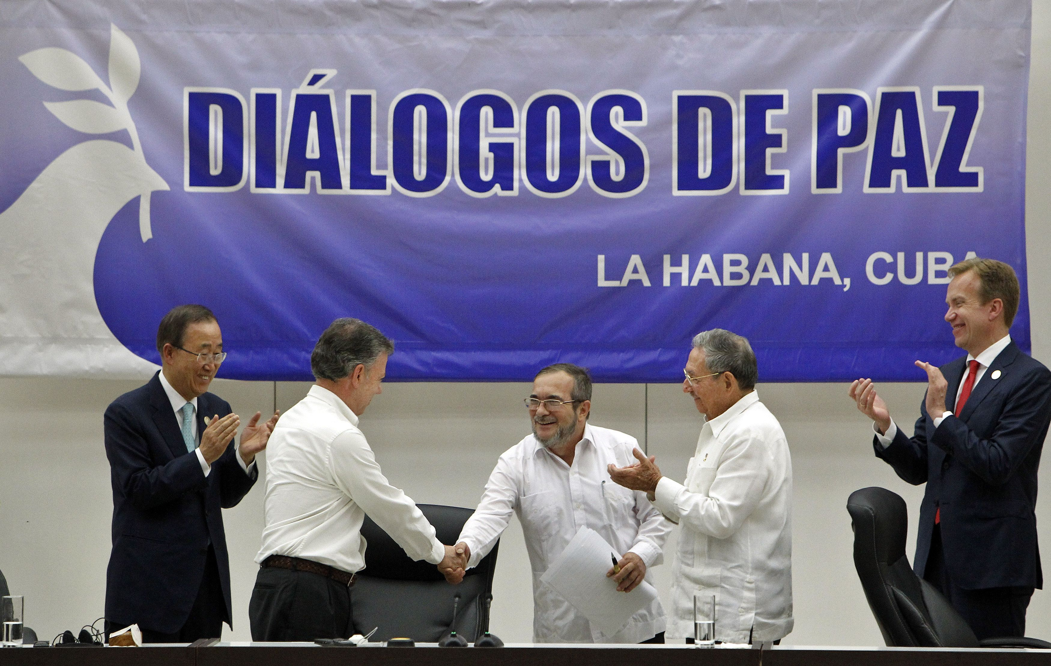 El gobierno de Colombia y las FARC llegaron a un acuerdo histórico por la paz