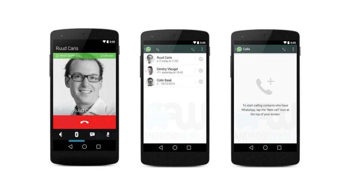 WhatsApp registra más de 100 millones de llamadas de voz diarias