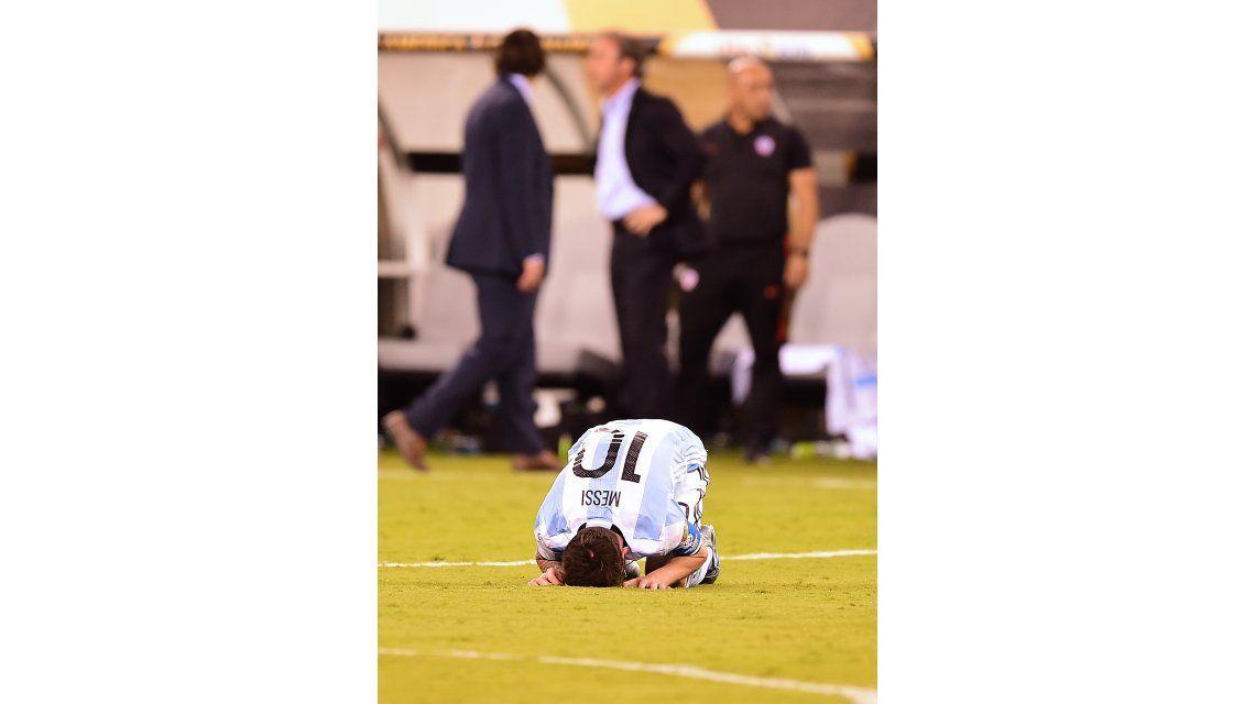 Argentina perdió otra final y y Lionel Messi deja la Selección