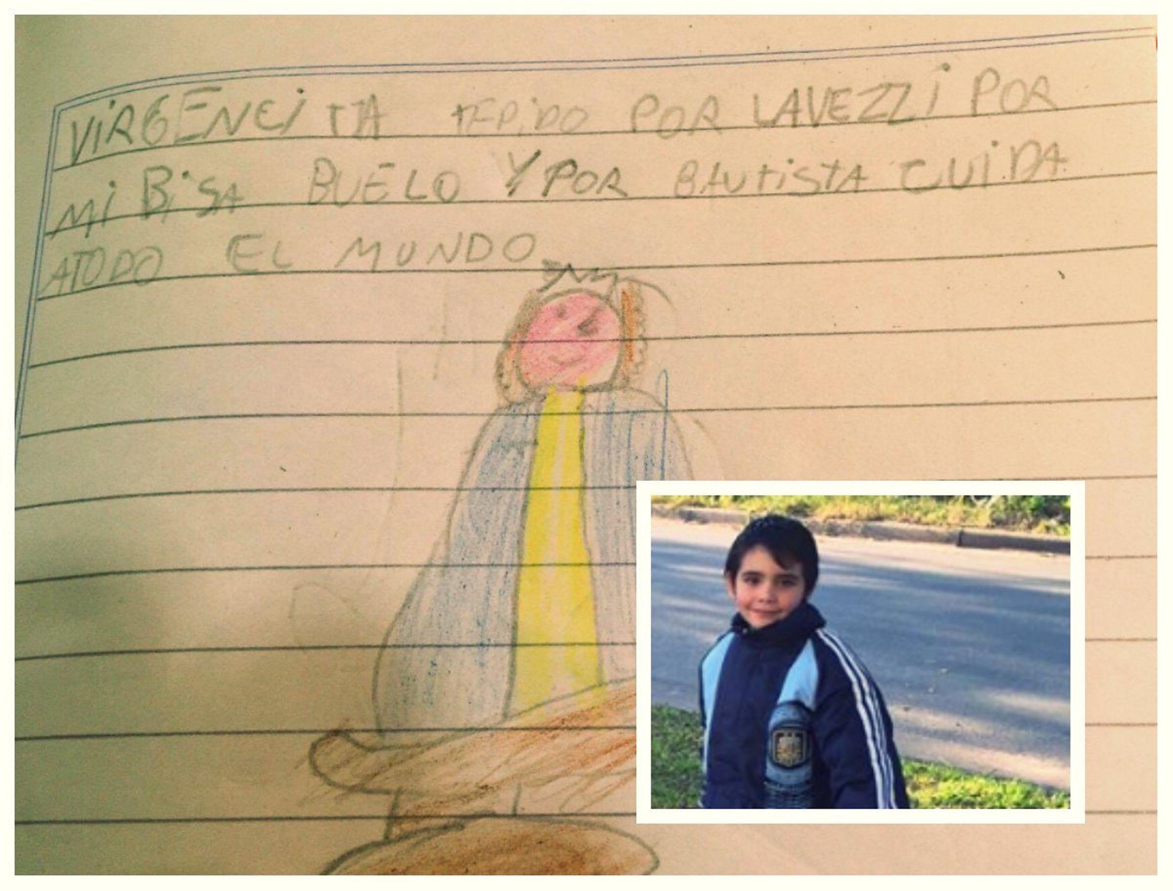 La oración a la Virgen de Luján de un niño de 8 años que conmueve a todos