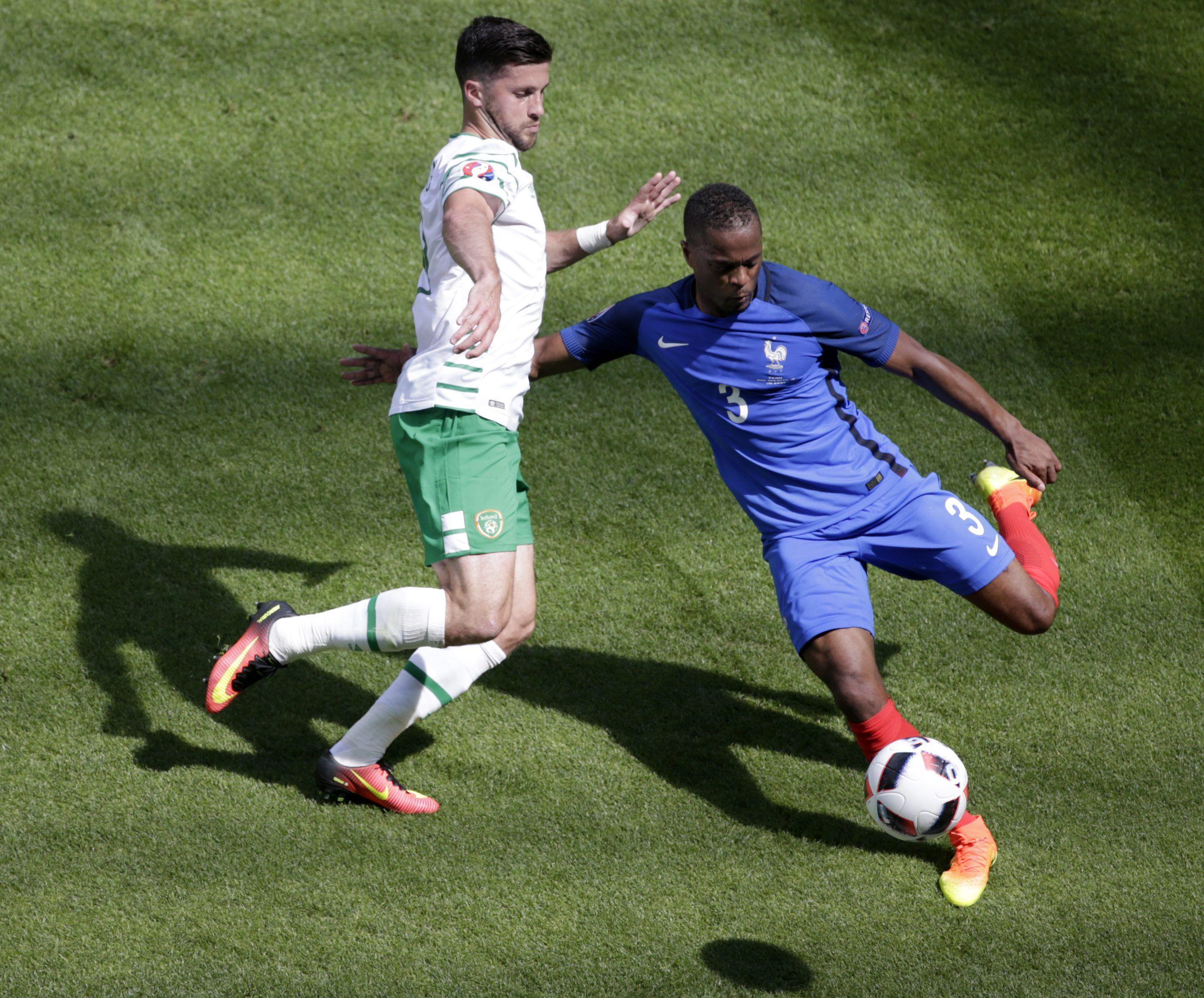 Francia se lo dio vuelta a Irlanda y se clasificó a los cuartos de la Eurocopa