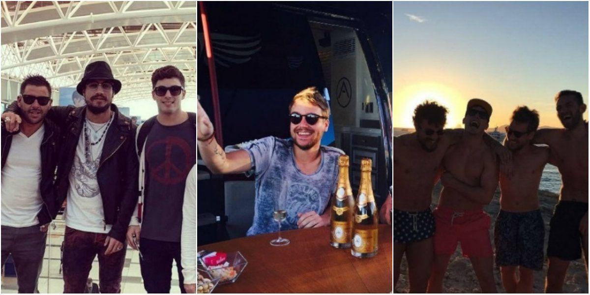 Otra vez soltero, Daniel Osvaldo se relaja en Ibiza