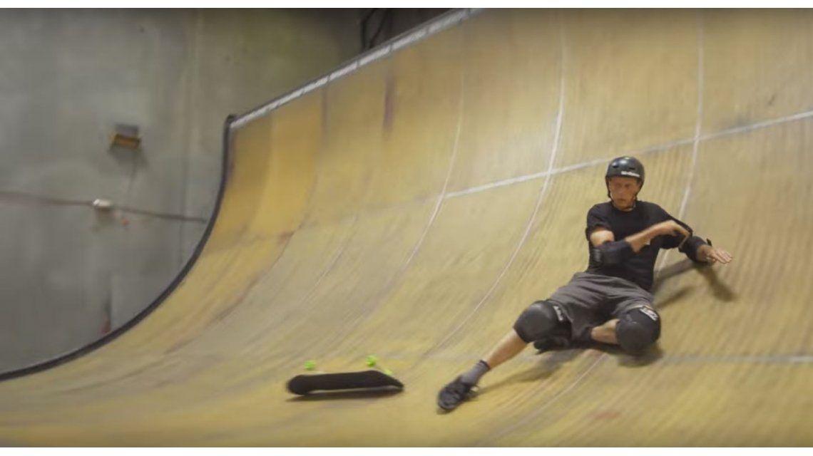 VIDEO: Mirá a Tony Hawk hacer un 900 a sus 48