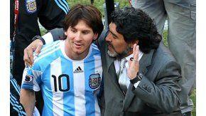 Los dos mejores jugadores de la historia argentina tienen una relación cambiante