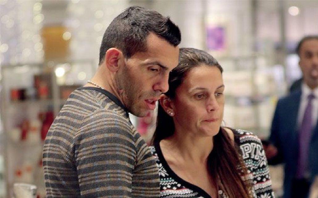 Saqué el romanticón que tengo adentro, bromeó Tevez sobre la declaración a su mujer