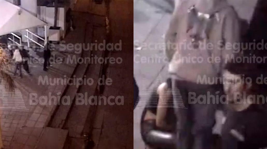 VIDEO: Salió de un boliche y noqueó de una trompada a una chica