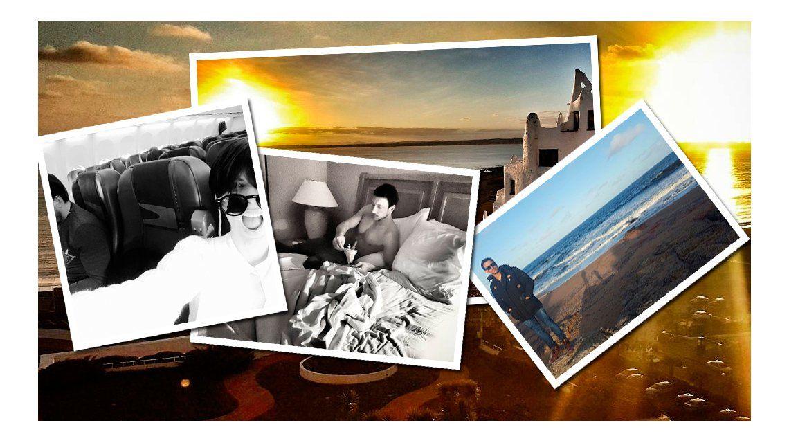 Las románticas vacaciones de Gimena Accardi y Nicolás Vázquez