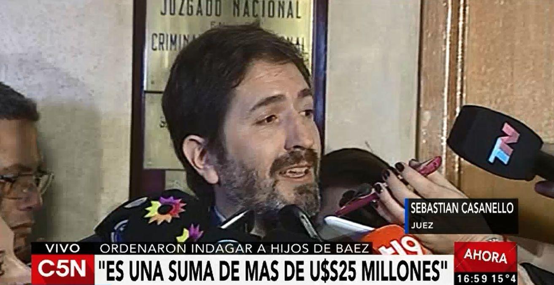 Casanello sobre los dichos de Báez: Valoren de donde viene esa información