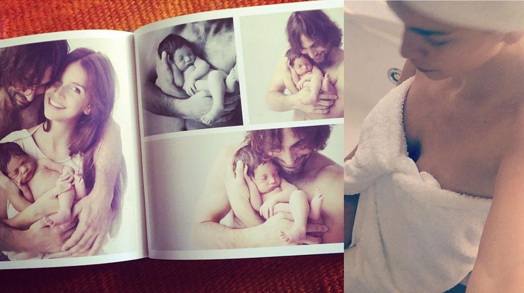 Zaira Nara, mamá full time y coqueta: baño hot en sus tiempos libres