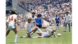 El Tata Brown también recordó el gol de Diego a los ingleses en Radio 10