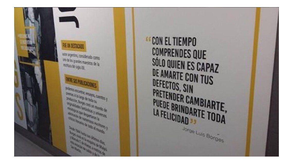 El fallido homenaje a Borges que inspiró desopilantes frases en Twitter