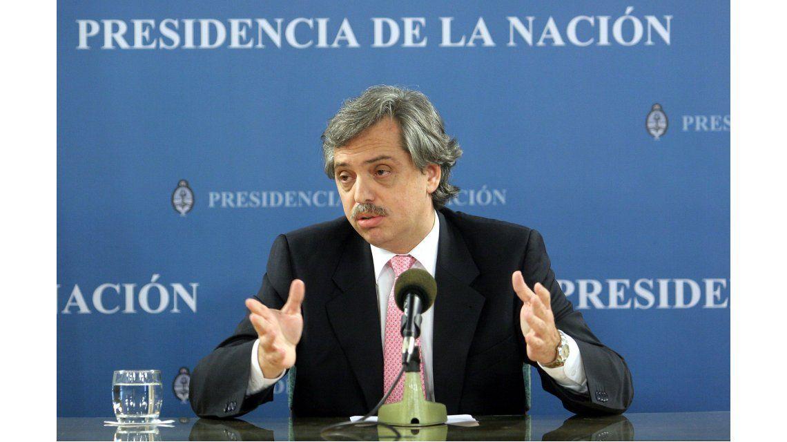 Alberto Fernández, sobre los aportes de campaña: Es difícil detectar si es plata del lavado