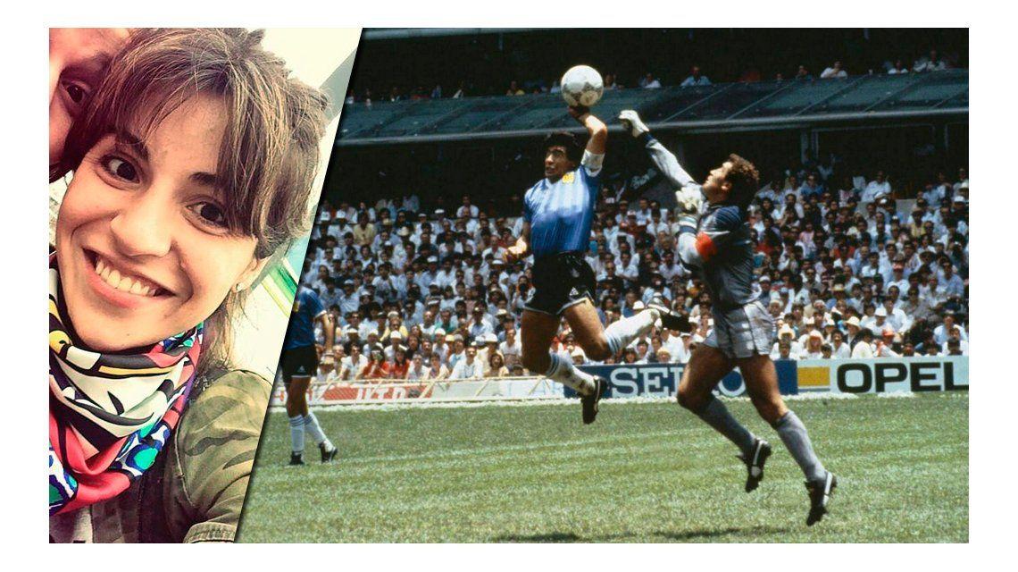 Gianinna Maradona recordó la Mano de Dios y el mejor gol de Diego