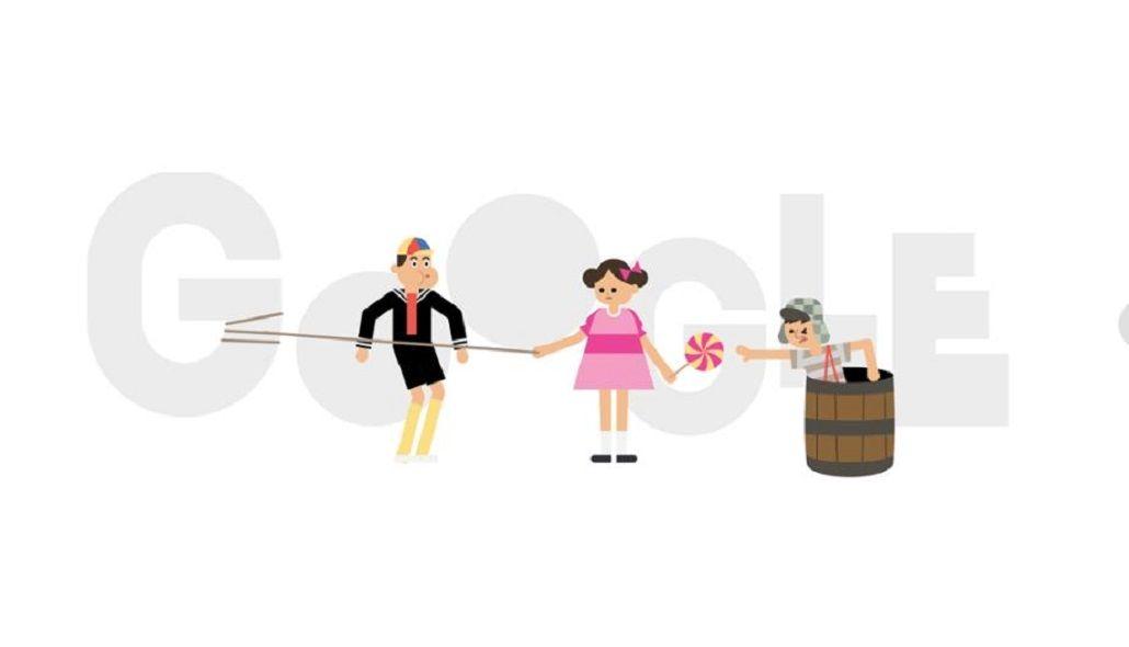 Google celebró el 45 aniversario de la primera emisión del Chavo del 8