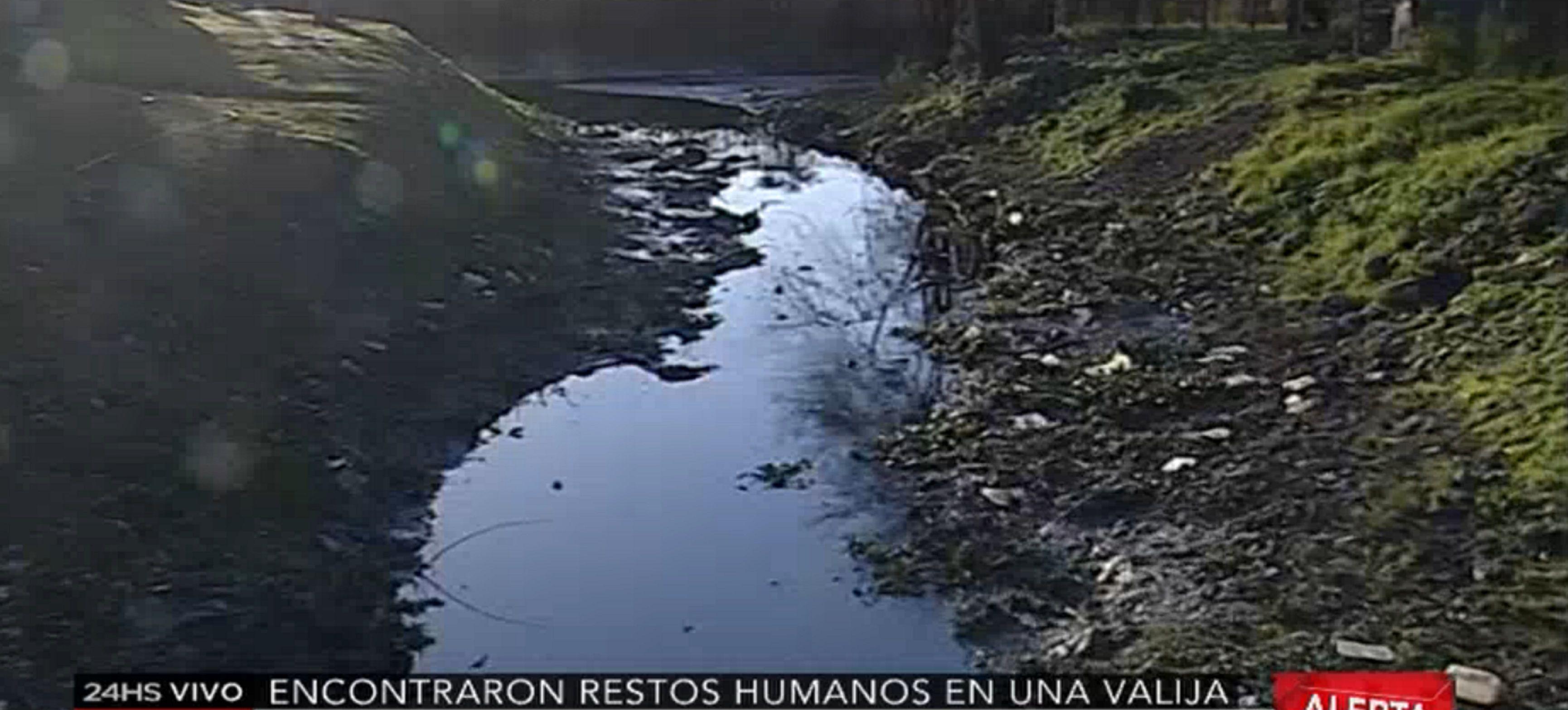 Encontraron restos humanos en una valija abandonada en San Fernando